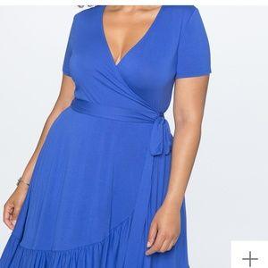 Eloquii wrap dress, size 16